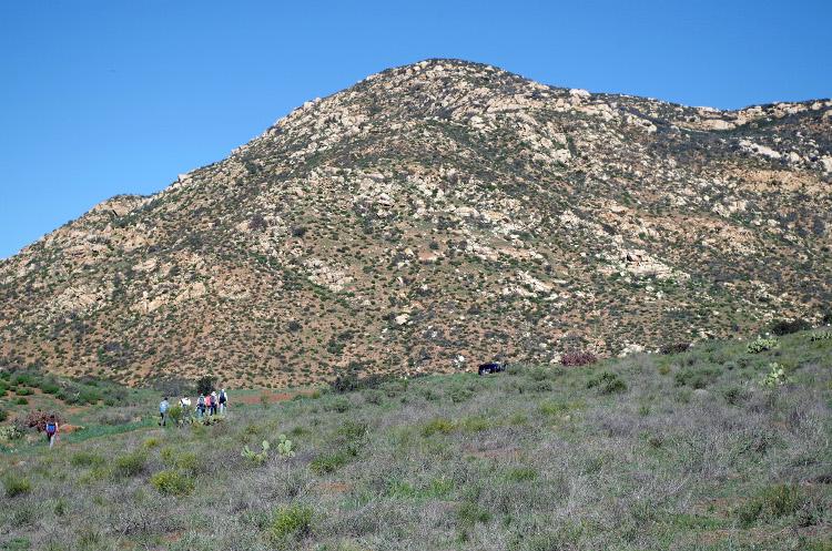 CBI team hiking Southcrest